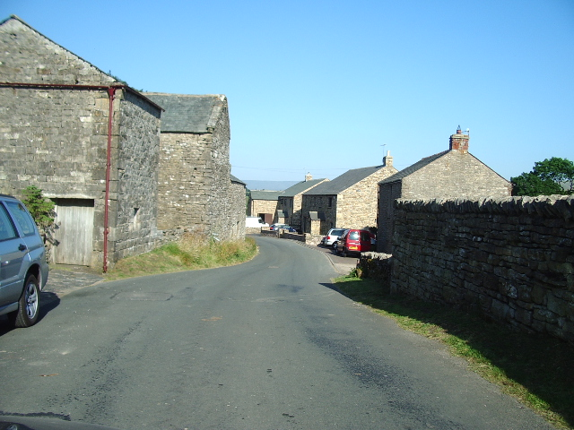 Main road through Kelleth