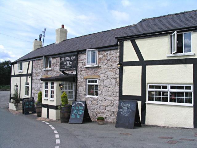 The Cross Keys free house, Llanfynydd