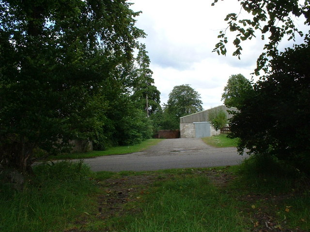 Entrance to Mount Gerald farm