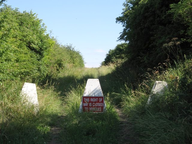 Byway closed to vehicles