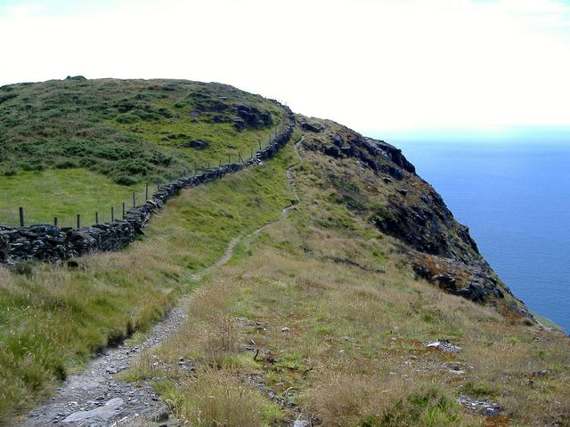 Bradda Hill coastal path, Isle of Man