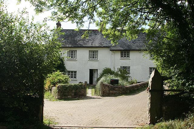 Sampford Courtenay: Lower Corscombe