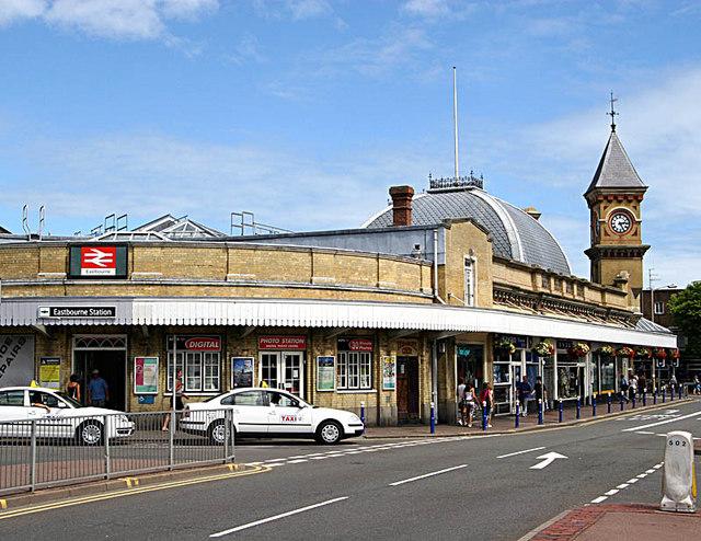 Eastbourne Station Frontage