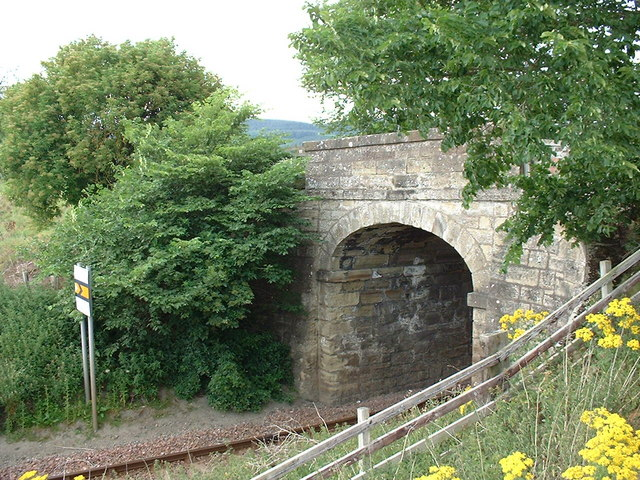 Railway Bridge at Kiltearn