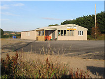 SJ2557 : Swan's farm shop, Treuddyn by Peter Craine