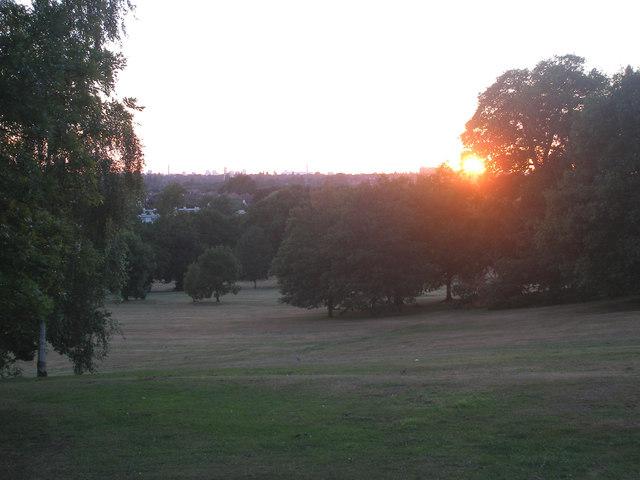 Elmdon Park, Solihull