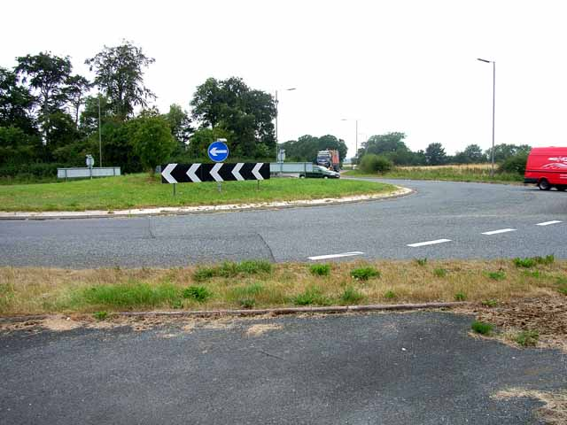 Roundabout on A689