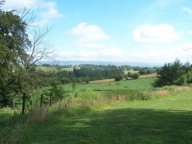 View from Harelaw Farm