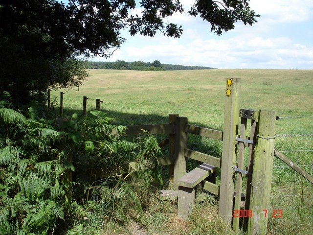 Norley - footpaths from Delamere Forest