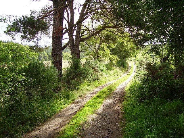 Beallachnagore track