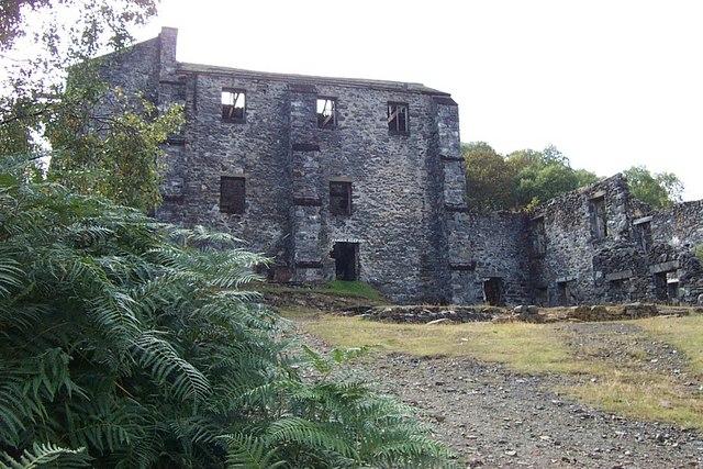 Klondyke Lead Mine Ruins