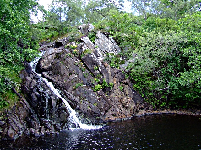 Weirs Waterfall in Strath Carnaig