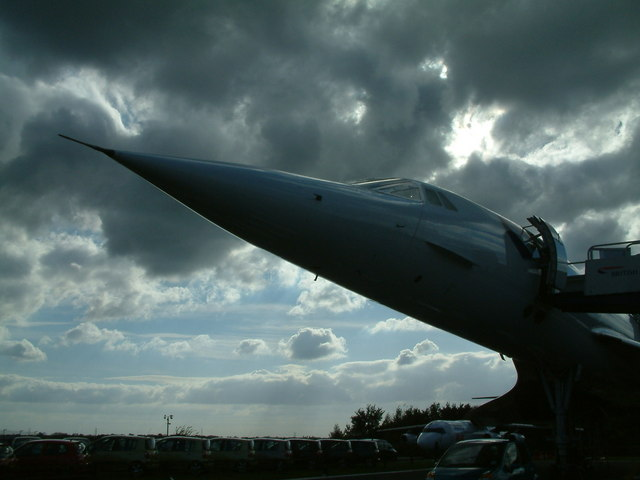 Concorde at Manchester Airport