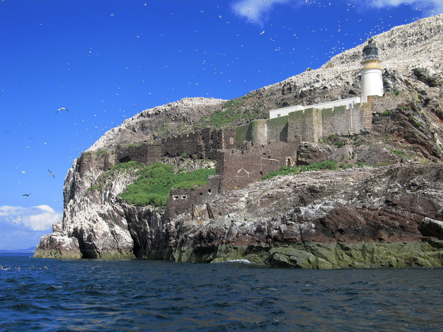 Bass Rock, Lighthouse and Castle