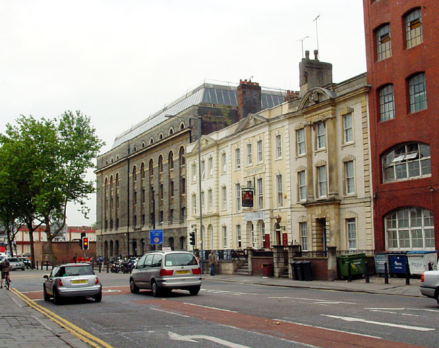 Prince Street and the Arnolfini