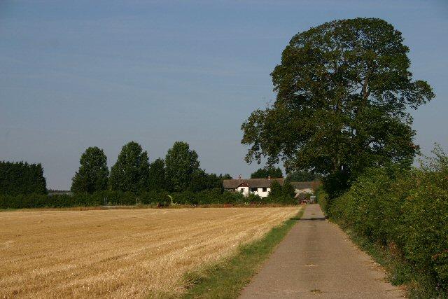 Entrance to Stanton Farm