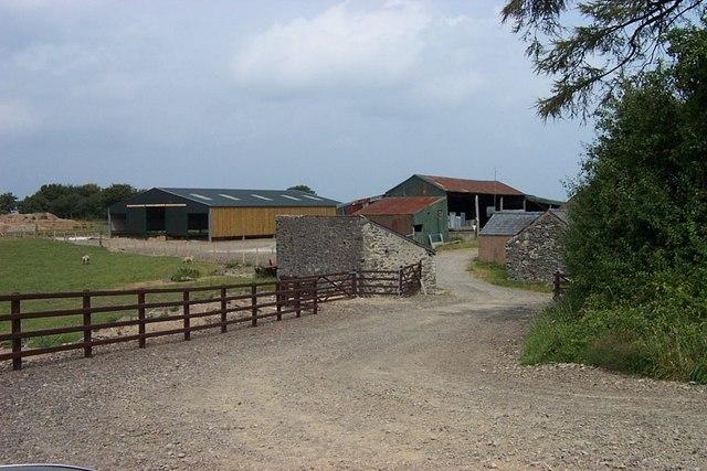 Waen Fechan Farm near Eglwysbach