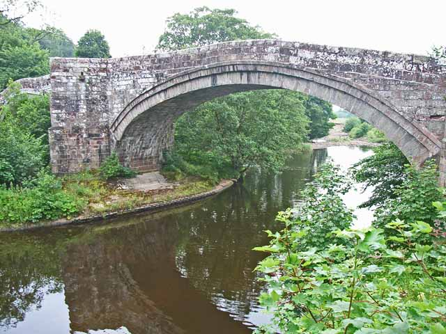 The old bridge at Lanercost