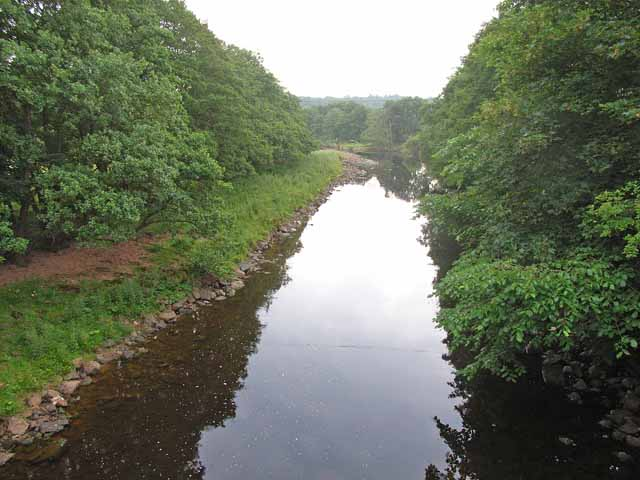 The River Irthing above Lanercost