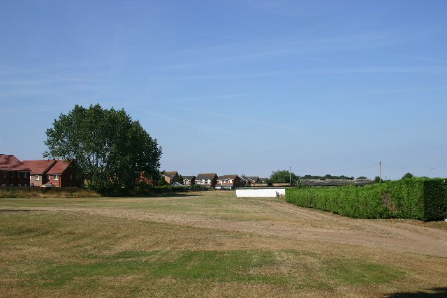 Housing estate and open area, Mildenhall
