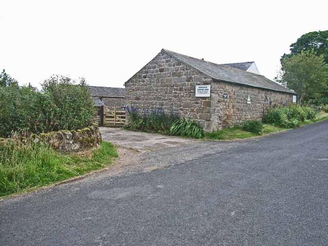 Bankshead camping barn