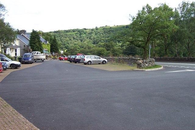 Bryn Glo Car Park near Capel Curig