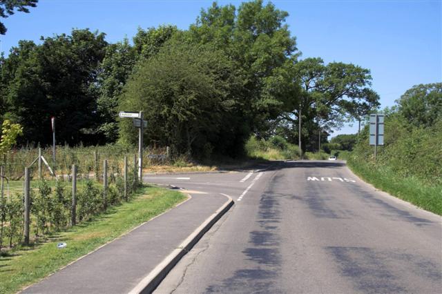 Swathwick Lane junction with Watson Lane
