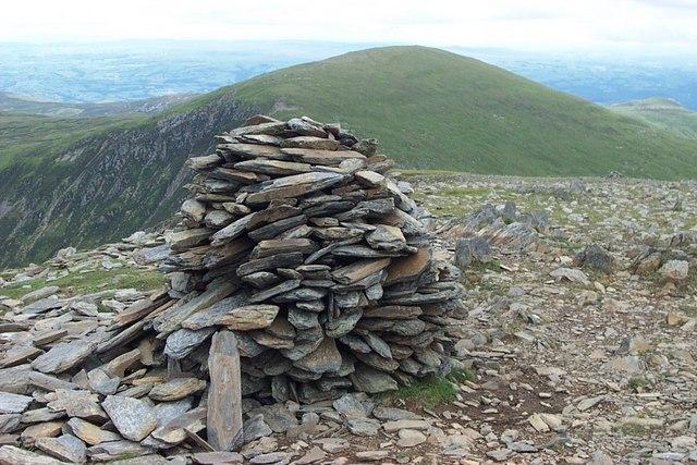 False Summit Cairn of Pen yr Helgi Du