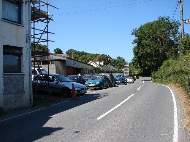 B4340 Road & Garage at New Cross