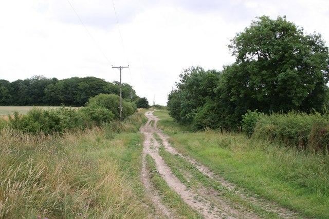 Roman Road near Stoupes Cottages