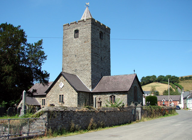 Parish Church, Llanfihangel-y-Creuddyn