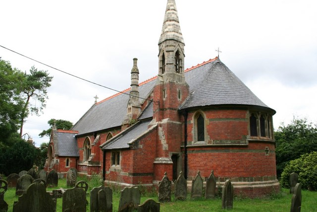 St.Stephen's church, Hatton, Lincs.