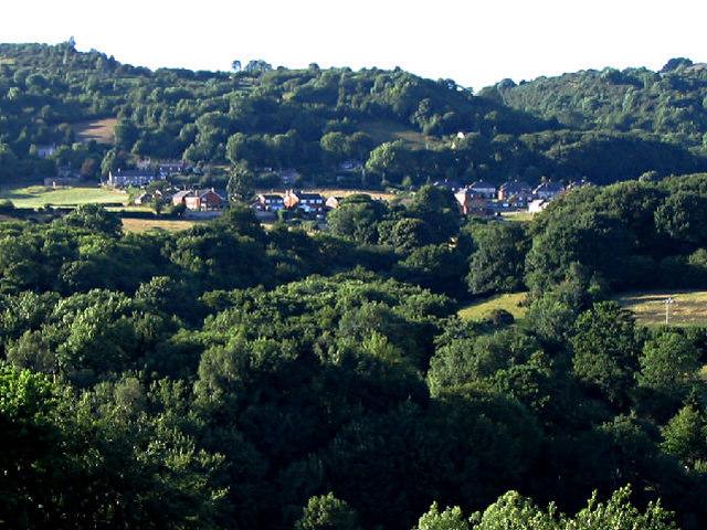 The village of Cymau, Flintshire