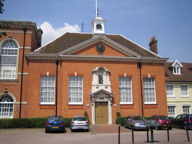 Hertford: The former Christ's Hospital