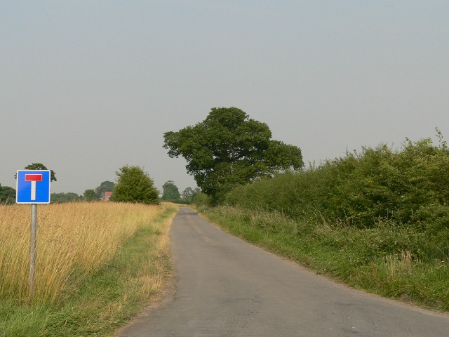 The Only Road To Gribthorpe