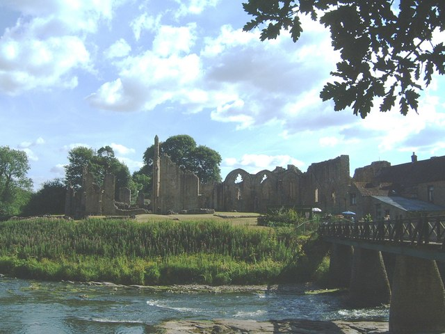 Finchale Priory from across the river...