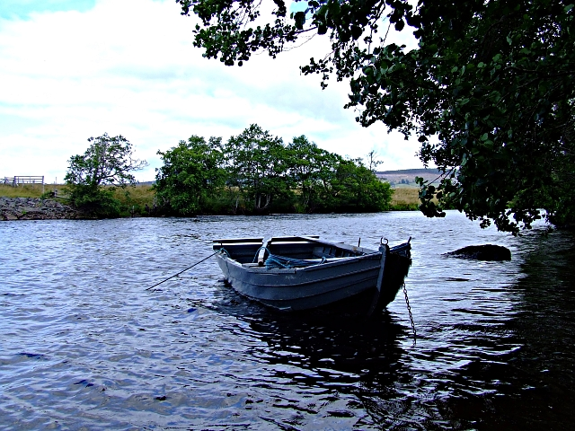 A Boat on the River Conon