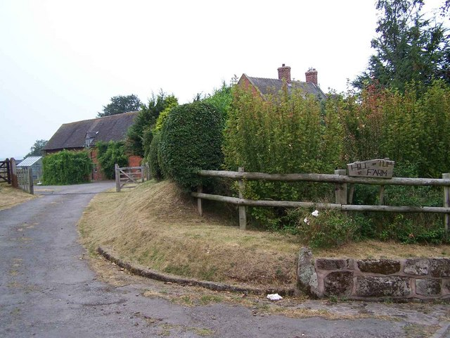 Entrance to Hill Top Farm