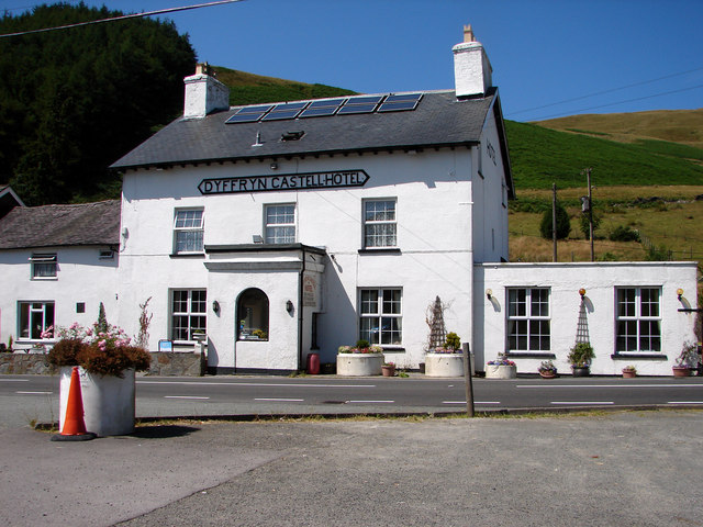 Dyffryn Castell Hotel near Ponterwyd