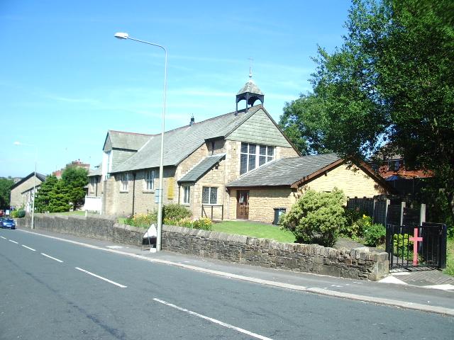 St Barnabas Parish Church, Water Lane, Darwen