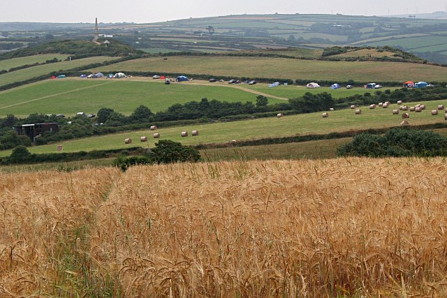 Barley, Bales and Tents