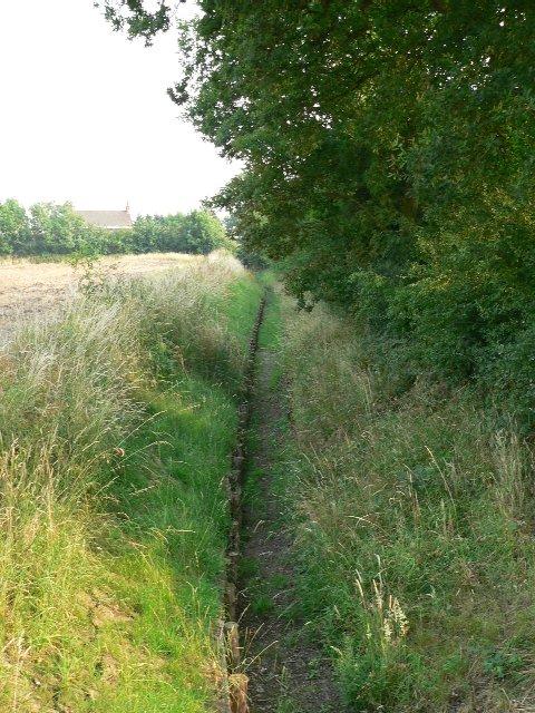 An Erstwhile Watercourse