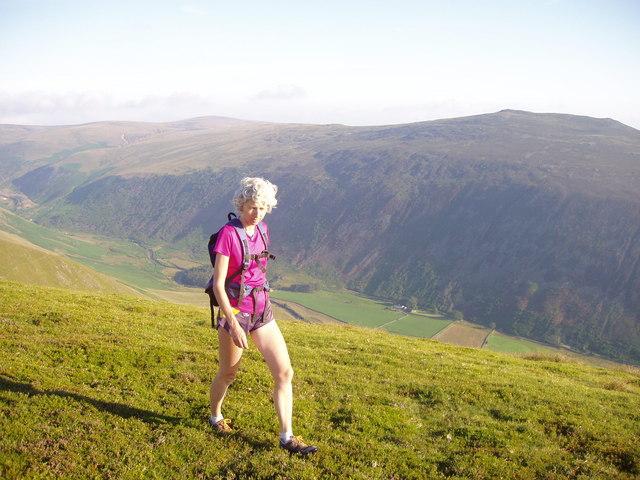 Heading for Bowscale Fell - Far East top
