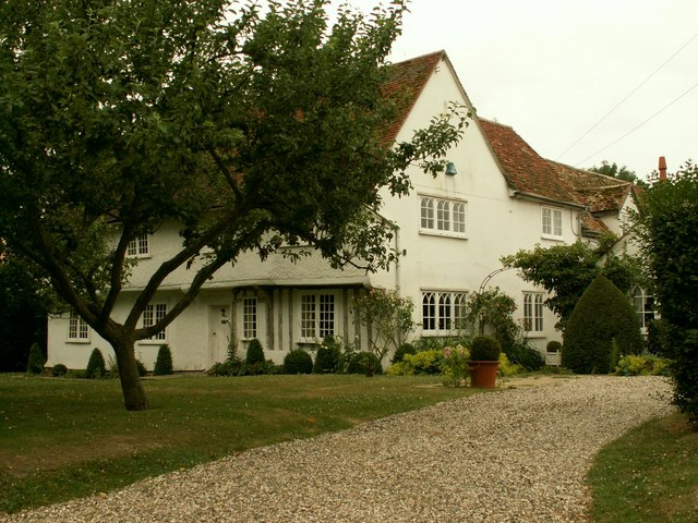 Old house at Catmere End, Strethall, Essex