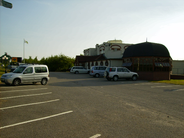 Jinnah Restaurant and car park
