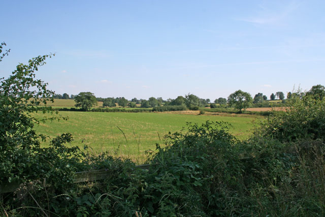 Farmland near Gaulby, Leicestershire
