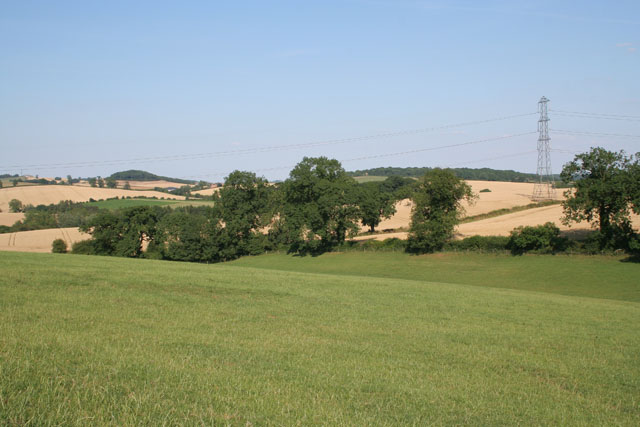 Leicestershire countryside between Skeffington and Tilton