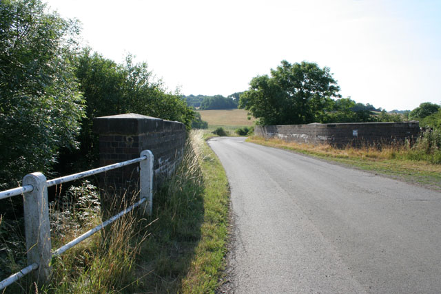 Railway Bridge on Loddington Road