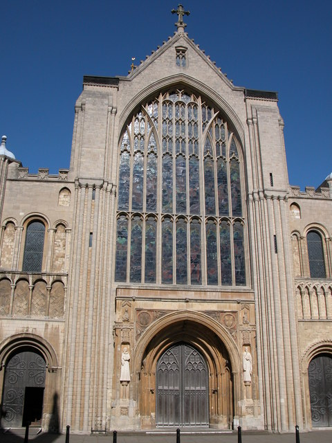 The West Front, Norwich Cathedral