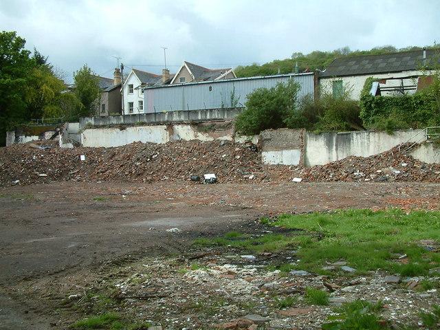 Colwyn Bay - Plas-y-Coed after demolition